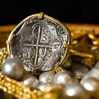 Coin, jewellery, treasure